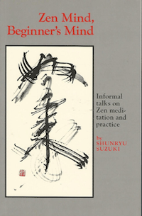 Book cover of Zen Mind, Beginner's Mind