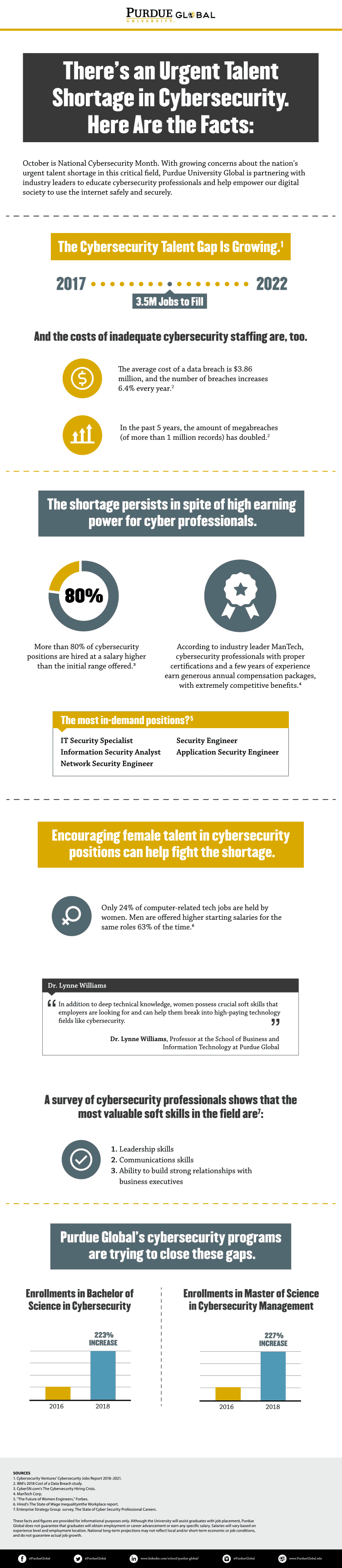 Infographic - Cybersecurity Threats