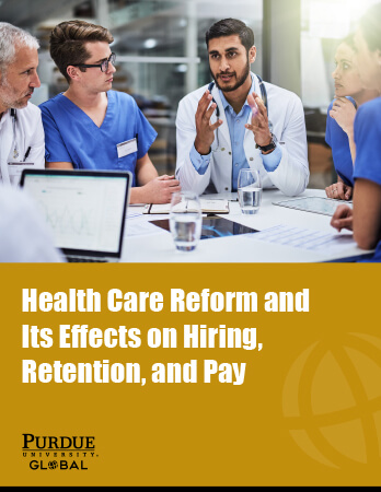 Health Care Reform and Its Effects on Hiring, Retention, and Pay Ebook Cover