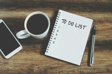 Time Management Tip 2: Plan ahead with a to do list