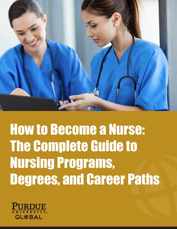 Advance Your Nursing Career Ebook Cover